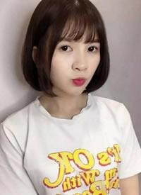 女生短发有刘海与无刘海的减龄值比较