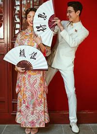 一?#23383;?#24335;可爱搞怪的婚纱摄影图片欣赏