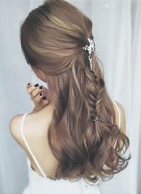 天然簡約永恆 新娘发型图片观赏