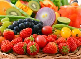 一组色彩鲜艳的水果蔬菜图片欣赏