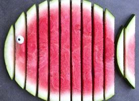 超有创意的水果摆盘,拿去学着做