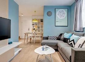 53㎡精致小公寓装修效果图欣赏