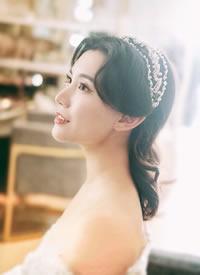 一组美美的新娘发型图片观赏