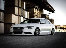 奥地利玩家x奥迪 Bagged Audi A6 x图片欣赏