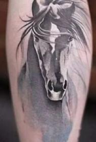 17张水墨中国风纹身图案作品观赏