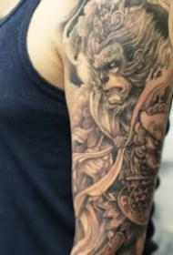 非常有魅力的新传统纹身图片欣赏