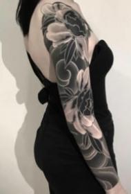 36组暗黑黑色系列的纹身作品欣赏