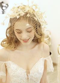 日系减龄妆容.少女心爆棚的新娘发型