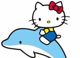 kitty貓是少女時代的可愛動漫形象,它頑皮活潑