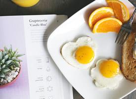 丰富的早餐美食图片桌面壁纸
