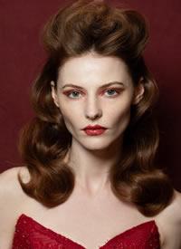欧美复古妆容,气场强大又魅力值爆表