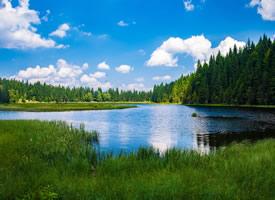 一组风景优美的湖泊高清图片欣赏