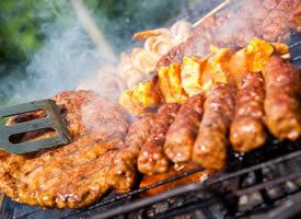 一組香噴噴的烤肉高清圖片欣賞