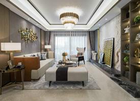 """现代都市时尚摩登,让""""家""""这个空间也不乏精致的艺术之美"""