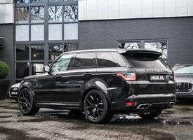全新路虎揽胜运动 SVR完美的运动SUV
