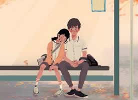 韩国插画师笔下情侣间甜蜜的日常