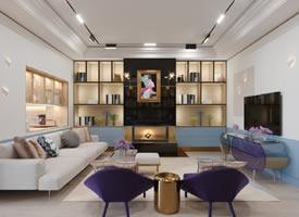 248平联排别墅风趣的多元设计空间 装修后果图