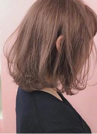 一组美丽大方女生短发发色发型参考