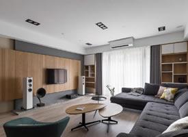 原木风格家居设计装修后果图,温馨温馨有层次 