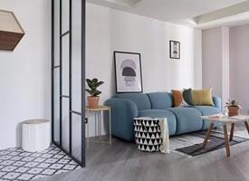 69m² 大户型两居室繁复风设计案例 装修后果图