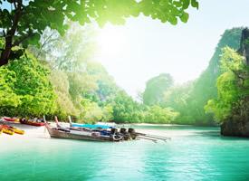 一组山清水秀的绿色大自然风景图片欣赏