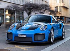一组超帅蛙王保时捷 911 GT2 RS图片欣赏