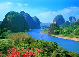 江西龙虎山美丽的大自然风景图片