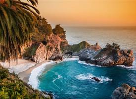 加利福尼亞山水美景高清桌面壁紙