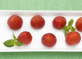 柔嫩汁多、形美味甜、芳香味浓的草莓