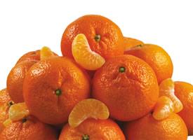 一组超级新鲜的酸酸甜甜的橘子特写图片