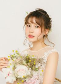 新娘造型不一定要华丽复杂也一样可以体现柔美