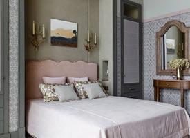 80㎡两居室自然色调温馨家装修效果图