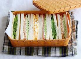 每天都来一份不一样的三明治图片欣赏