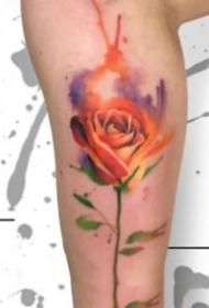 16组创意的水黑色小清爽纹身图案