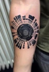 适合摄影爱好者的一组相机纹身图案