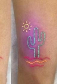 9张荧光纹身作品的效果图欣赏