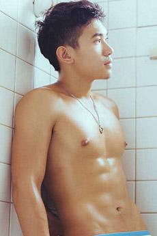 性感肌肉帅哥人体男裸模诱人艺术写真照片图片