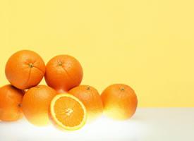 一组超清晰的橙子特写图片欣赏
