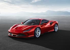 一组红色帅气的2020 Ferrari F8 Tributo图片
