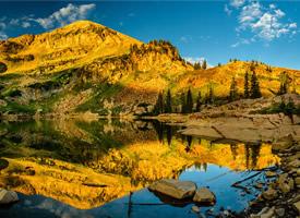 一组大气雄壮山脉风景高清图片欣赏