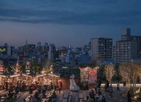 一组寂静唯美的城市夜景图片欣赏