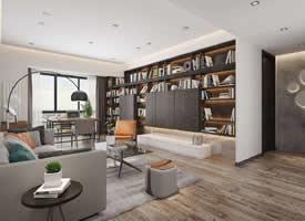 现代简约的居家空间装修效果图欣赏