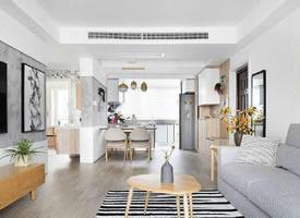 89平北欧风格小清新新房装修效果图
