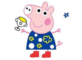 今年超火的可爱的小猪佩奇壁纸欣赏
