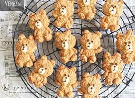 一组可爱贱贱的泰迪小饼干图片欣赏