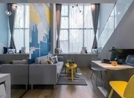 47㎡LOFT公寓,充满活力的大发pk10怎么玩介绍欣赏