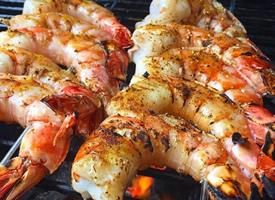 一組超級美味的海鮮大餐圖片欣賞