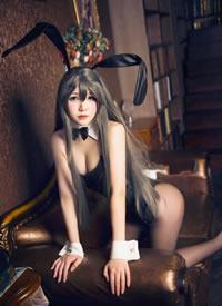 一组cos性感长腿的兔女郎美女图片欣赏