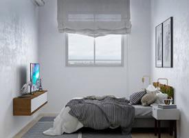 脑洞很大的小户型公寓 布局聪明实用软装时尚简约