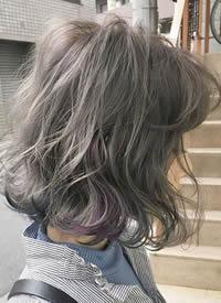 一组超级炫酷の彩色头发挑染图片欣赏